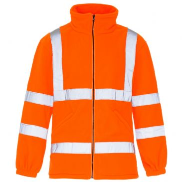 SuperTouch Orange Hi Vis Fleece Jacket 3808